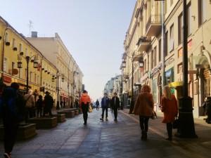 А в центре теперь гуляют пешеходы